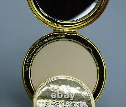 Jay Strongwater Pour Estee Lauder 2010 Compact Émail Avec Les Oiseaux Swarovski Crystals