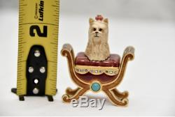 Jay Strongwater Pour Estée Lauder Pampered Pup Parfum Solide Compact 2005