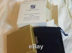 Jg-090 Estee Lauder Coeurs Chanceux Lucidité Poudre Compacte Nouveau En Vintage Box