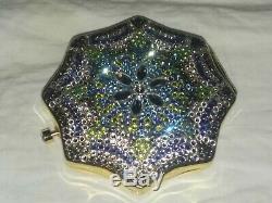 Jg-137 Estee Lauder Judith Leiber Crystal Dreams Lady Poudre Compacte Vintage
