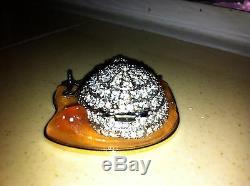 Joyeux Noël Estee Lauder Parfum Compact Rare 2002 Givré Igloo