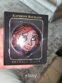 Kathrine Baumann Estee Lauder Petite Sirène Cristal Ariel Disney Powder Compact