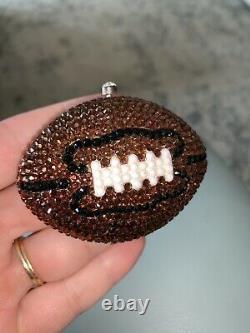 Kathrine Baumann Estee Lauder Swarovski Crystal Football Poudre Compacte