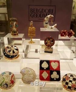 Limité Nouveau 2019 Estee Lauder Parfum Solide Compacte Verre Heure Jeweled Mibb