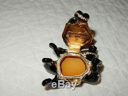 Mib Estee Lauder Octopus White Linen Parfum Solid Figure Compact 2002