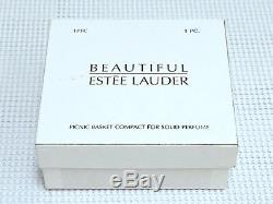 Mibb Estee Lauder Romantique Panier Pique-nique Compact Parfum Belle Solides