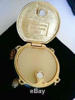 Nib 2012 Estée Lauder Strongwater Sensuous Nude Céleste Charms Parfum Compact