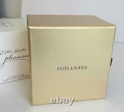 Nib 2016 Estee Lauder Glittering Globe Pleasures Make A Wish Parfum Compact