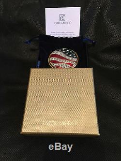 Nib Estee Lauder America La Poudre Pressée Lucidity Compact Jeweled