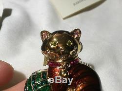 Nib Estee Lauder Judith Leibber Chaton Chaton Compact Beau Parfum