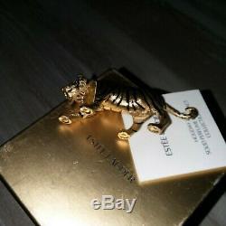 Nib New Estée Lauder Parfum Solide Compact Année De Tiger 2009 Belle