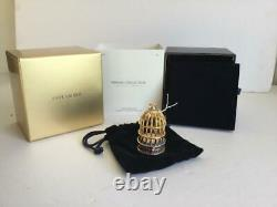Nib Rempli 2015 Estée Lauder Gilded Birdcage Tubéreuse Parfum Compact