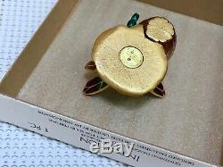 Nibb Estee Lauder Jay Strongwater Dragonfly Solide Parfum Compact Orig. Boîte