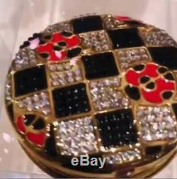 Nouveau 2019 Estee Lauder Poudre De Parfum Solide Compact Lucky Ladybug Mibb