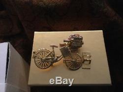 Nouveau Dans La Boîte Estee Lauder Parfum Solide Compact Vibrant Bike Ride 2008 Rare