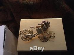 Nouveauté De Box Estee Lauder Solid Parfum Compact Spirited Bike Ride 2008 Rare