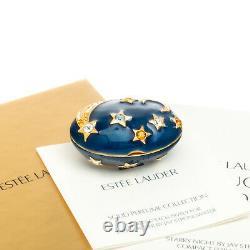 Nuit Étoilée Estee Lauder Parfum Compact Jay Strongwater Mib
