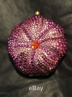 Occasion Estee Lauder 2004 Lucidité Poudre Prismatic Fleur Cristal Compact