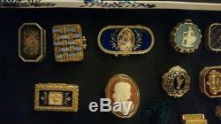 Parfum De Collection Compacts Et Boîtes Trinket Lot De 15 Estee Lauder Et D'autres
