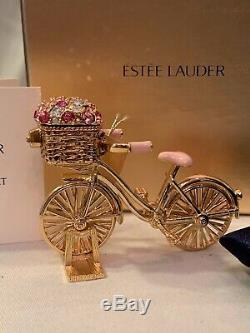 Parfum Solide D'estee Lauder / 2008, Balade À Vélo Inspirée, Extrêmement Rare