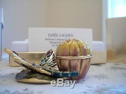 Parfum Solide D'estee Lauder Compact 2002, Libellule Scintillante