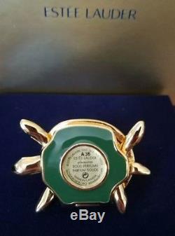Parfum Solide D'estee Lauder-pleasures-turtle Endurance Compact Pour Femmes-neuf Dans L'emballage