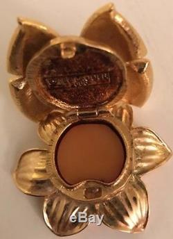 Parfum Solide De Papillon Enchanté D'estee Lauder Compact 2000 Beau Parfum