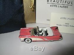 Pink Lady Cadillac Estee Lauder Belle Pleine Parfum Solide Voiture Compacte