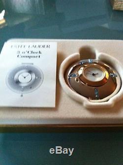 Poudre Pressée Estee Lauder Clock Compact