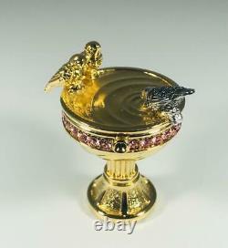 Prototype 2001 Estee Lauder Pleasure Birdbath Solid Parfum Compact Avec Pouch