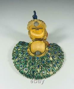Prototype 2006 Estee Lauder Beautiful Glorious Peacock Solid Perfume Compact