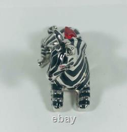Prototype/variation 2001 Estee Lauder Pleasures Zebra Solid Parfum Compact