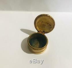 Rare1973 Estee Lauder Youth Dew Memento Amour Parfum Solide Donateur Compact