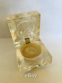 Rare1974 Estee Lauder Estee ' Ice Crystal Parfum Solide Compact