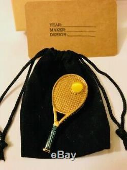 Rare2007 Harrods / Estee Lauder Complet / Inutilisé Raquette De Tennis Compact