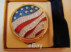 Rare 1994 Estee Lauder America The Beautiful Compact