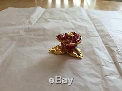 Rare Estee Lauder Compact Parfum Compact Rose Rouge Brillant Vide