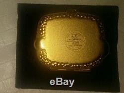Rare Estowder Lauder Golden Serpent Compact Lucidity Transparent 06 Poudre. 1 Oz