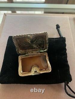 Rare Et Collectionnable Vintage Estee Lauder The Cats Meow Parfum Compact