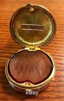 Rare Parfum Compact Solide De Princesse D'estee Lauder Imperial