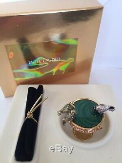 Retraité Estee Lauder Parfum Solide Birdbath Compact, Collection, 2001
