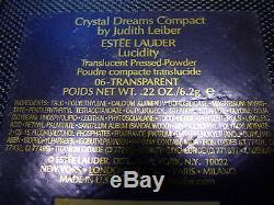 Superbe Estee Lauder Poudre Compacte Crystal Dreams Par Judith Leiber