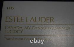 Ti-004 Estee Lauder Canada Mon Nos De Lucidité Compact Canada Avec La Case Des Années 1990