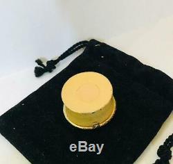 Très Rare1972 Estee Lauder Youth Dew Memento Parfum Solide Compact Withpouch