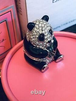 Très Rare Estée Lauder Plaisirs Panda Parfum Compact