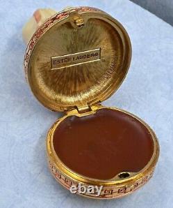 Vintage Estee Lauder Imperial Princess Ivory Series Parfum Solide Compact