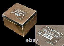 Vintage Estee Lauder Parfum Solid Compact Roller Coaster Boxes Jamais Utilisé