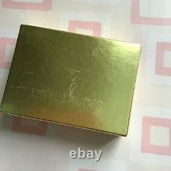 Vtg Estee Lauder Chic Pink Crystal Pig Powder Compact Original Box Lucidité